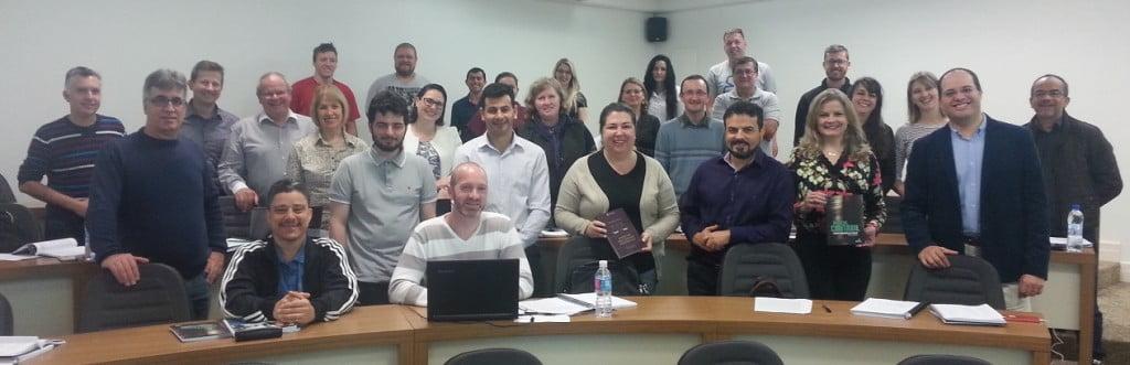 No último sábado, 30 profissionais concluíram o curso de Perito Contábil ministrado por Paulo Cordeiro de Melo - Foto: Divulgação