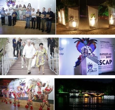 Imagens do evento de lançamento da 17ª Conescap - Fotos: Divulgação
